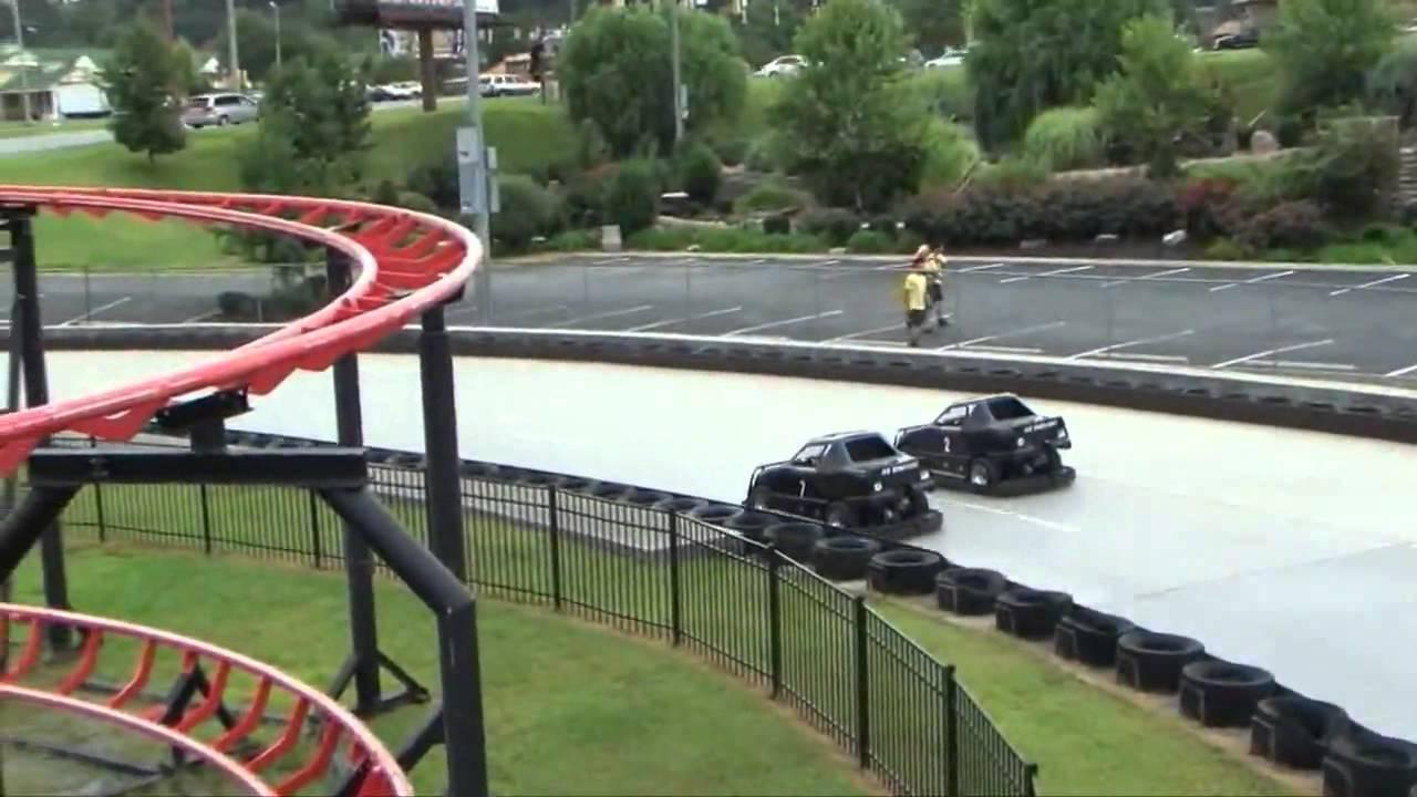 Nascar speedpark pigeon forge tn youtube