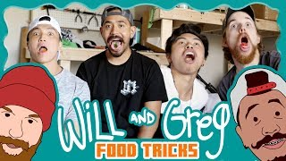 Will & Greg Show:  Food Tricks (Ep. 12)