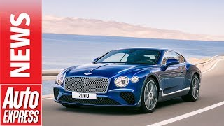 New Bentley Continental GT revealed with 626bhp W12 power. Auto Express.