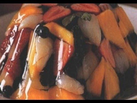 طريقة تحضير حلوى جيلي الأناناس