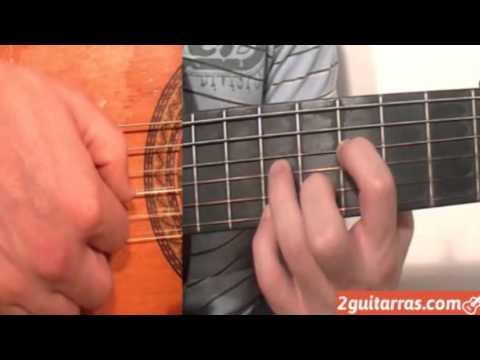 Clases de guitarra - Ejercicio de Bulería - Parte 27