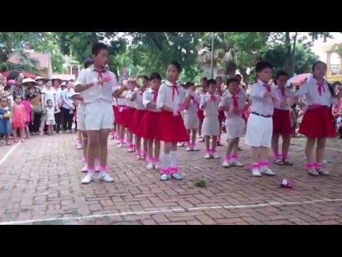 Múa Dân Vũ Rửa Tay  và Nối Vòng Tay Lớn( remix) - Trại Hè Thiếu Nhi năm 2015 - Tổ dân phố Long Trì 2