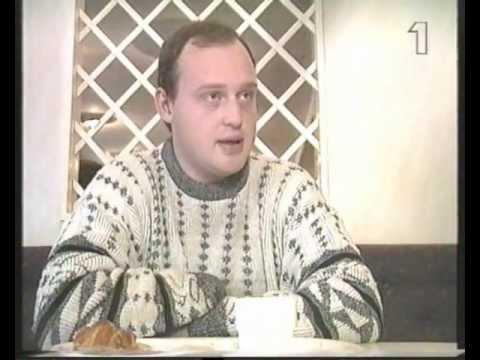 SD:s ledare Anders Klarström i Lilla Aktuellt inför valet 1994