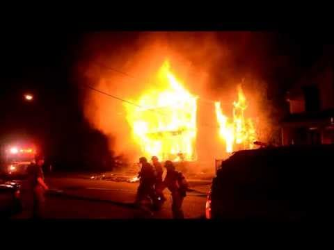 Early video and radio traffic: House fire in NY