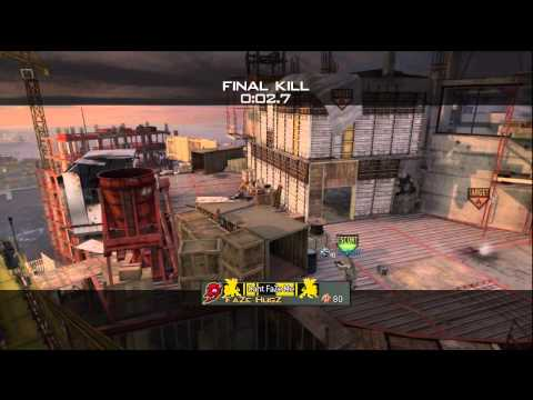 Overwatch MW3 Crane Shot!  | FaZe HugZ  | SICK!