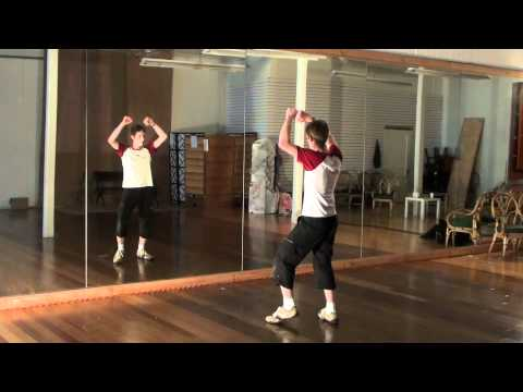 Michael Jackson Thriller Dance Tutorial 3/4 (With Music Slow Speed)