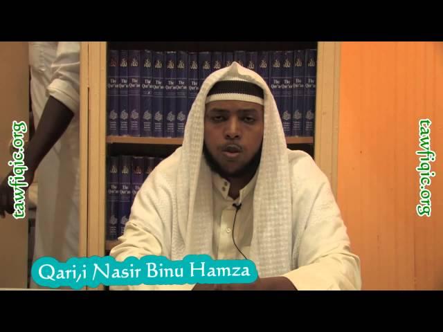 """Beautiful Qari""""i Ustaz Nasir Hamza"""