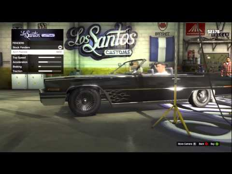 GTA V (GTA 5): Low Rider Customization (Xbox 360),