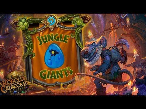 [ Hearthstone ] Dungeon Run - Jungle Giants | Inn-vitational - BlizzCon 2017