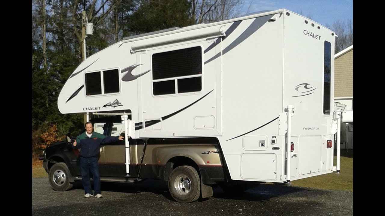 2012 chalet ds116rb truck camper upgrades youtube - Chalet kamer ...