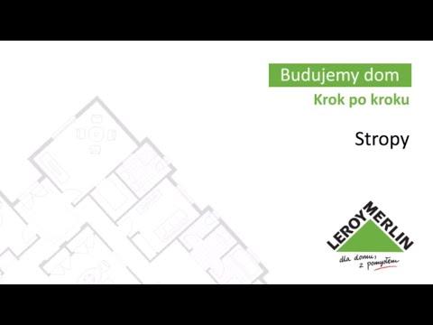 Stropy. Budowa domu