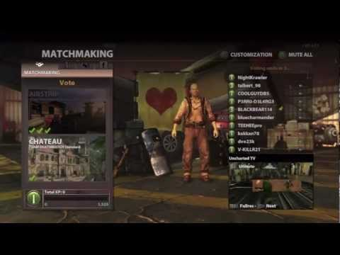 Uncharted 3 Multiplayer Gameplay - First Impressions (Team Deathmatch on Airstrip!)
