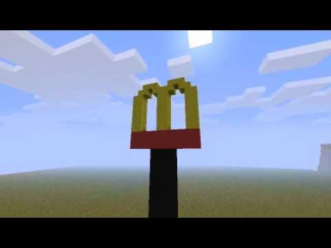 Minecraft Mcdonalds Si...