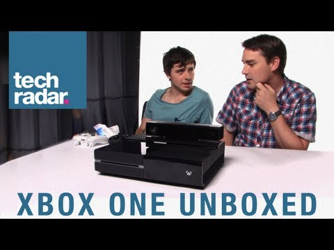 Xbox One unboxed: Up close first look at Xbox One console, gamepad & Kinect 2