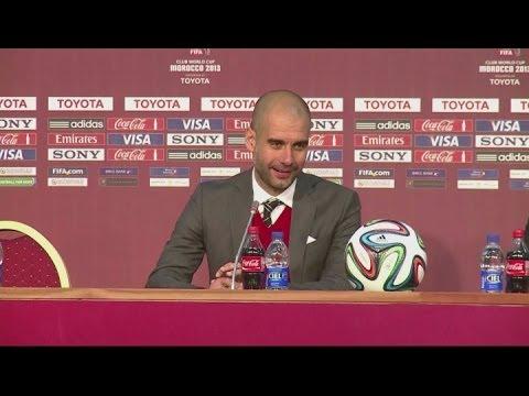Guardiola dedicates Bayern's Club World Cup win to Heynckes