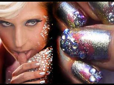 "Lady Gaga ""Love Game"" Inspired Nail Tutorial,"