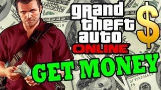GTA 5 ONLINE: How To Make MONEY FAST $$$ EASY CASH START