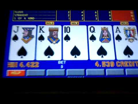 online casino video poker royals online