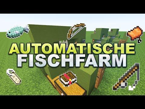 Minecraft - Vollautomatische Fischfarm // Automatic Fishfarm - Tutorial 1.10