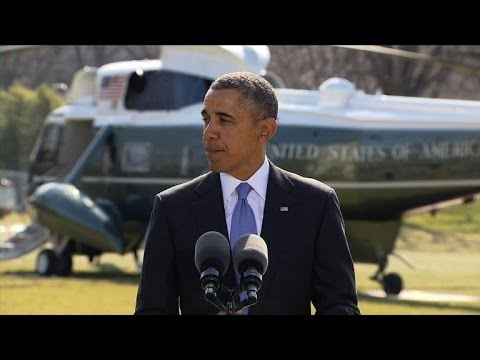 Obama: Sanctions on more Russian govt. officials, bank