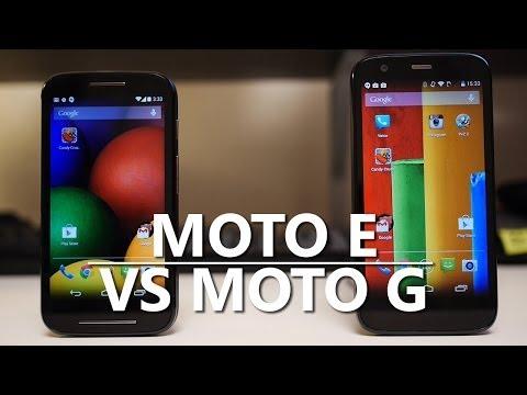 Moto E vs Moto G