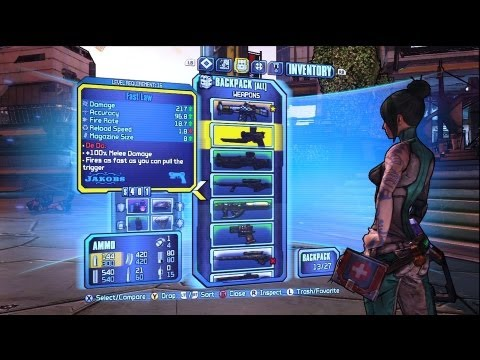 The Gun Show - Borderlands 2 - Talking Guns