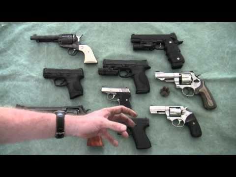 Choosing A Handgun For Home Defense