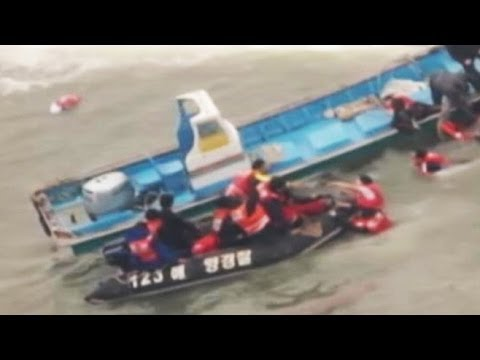 Captain Abandons Ferry That Sunk Off South Korea