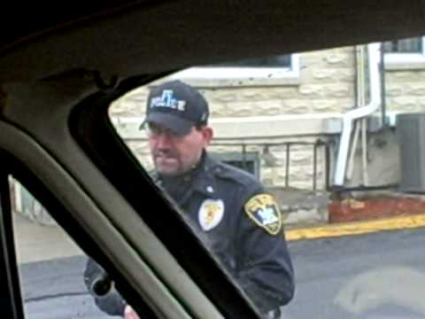 Ithaca cops meet the SOVEREIGN COPWATCH