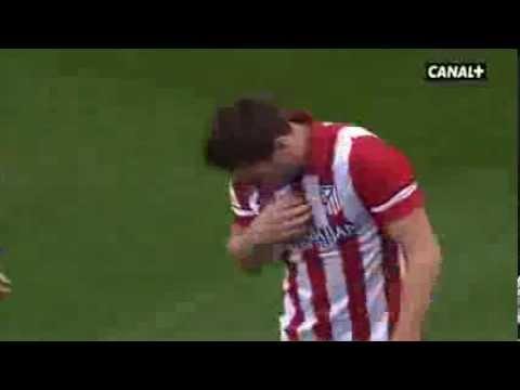 Málaga 0-1 Atlético de Madrid / Liga BBVA / Jornada 18 / 04-01-2014 / Resumen