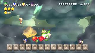 New Super Luigi U - 7-Airship: Bowser Jr. Showdown