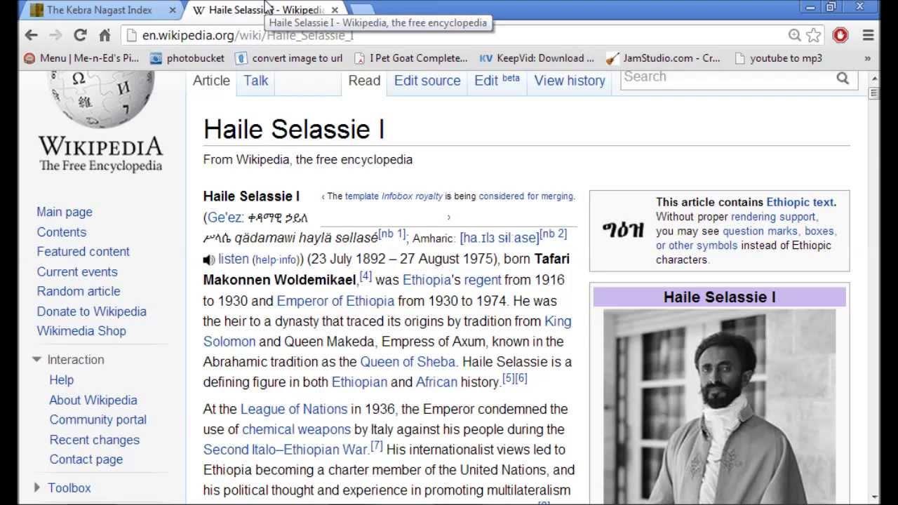 Ethiopians Solid As A Rock