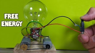 Free Energy Light Bulbs 230V - Using Piezo Igniter