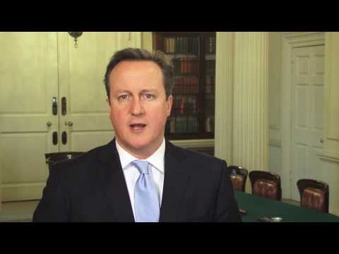 Chinese New Year 2014: message from David Cameron