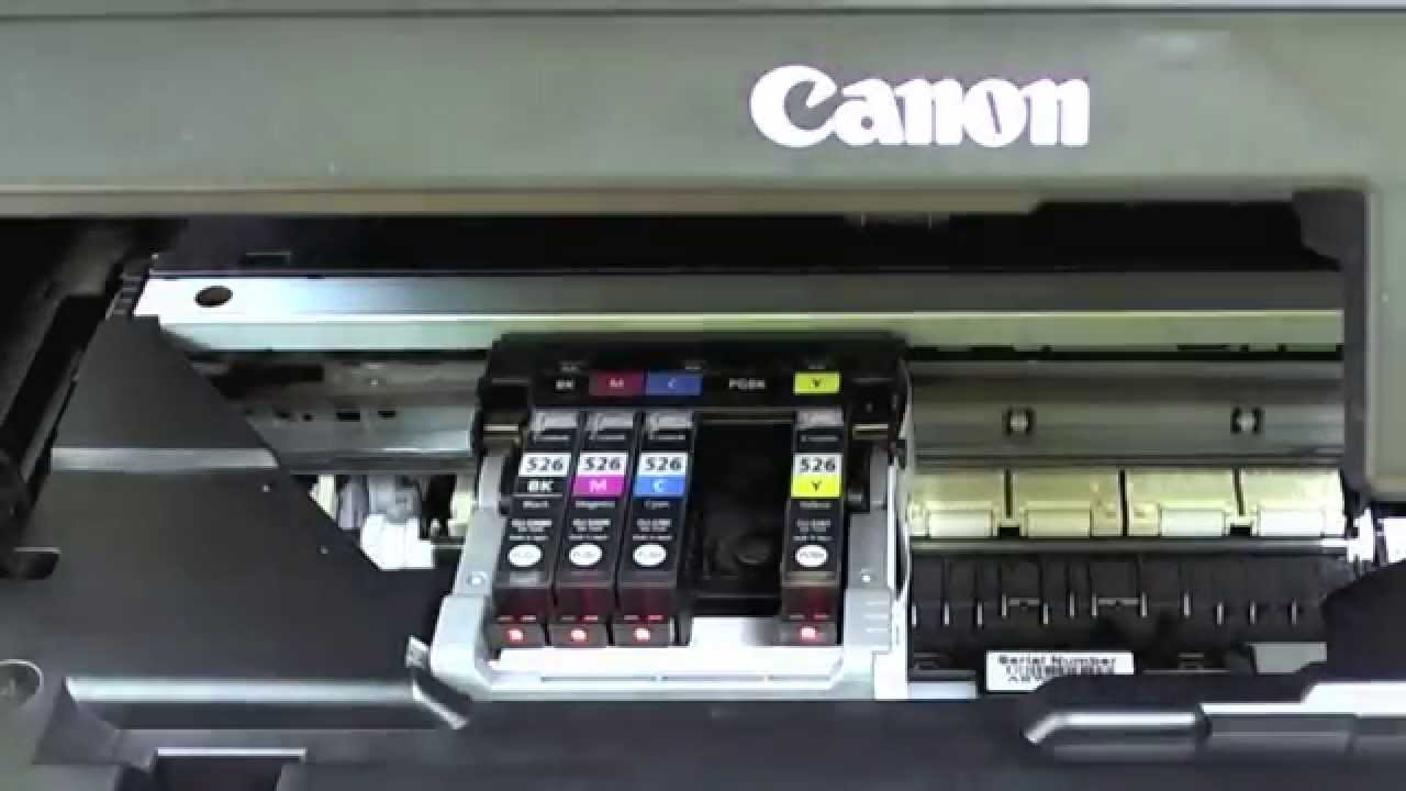 canon mp550 cartridges vervangen