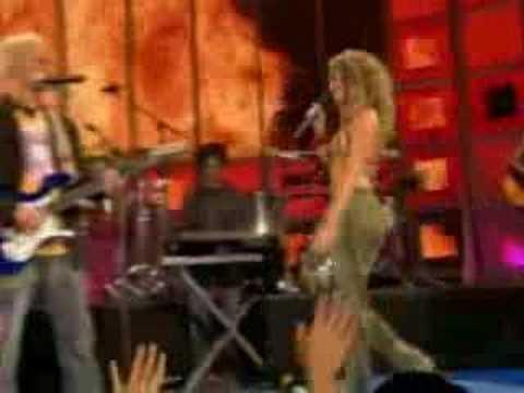 Shakira n Alejandro Sanz - La Tortura Live (sexy), SHAKIRA