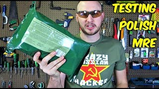 Testing Polish MRE (Meal Ready to Eat)