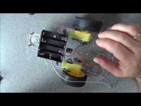 52. Projekt Robot - montaż podwozia i sterownik HG7881