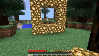 How To Make Aether Portal In Minecraft