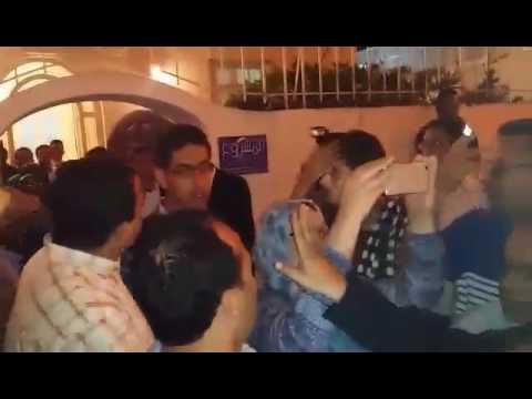 اتحاديون يمنعون بنكيران من دخول مقر حزبهم