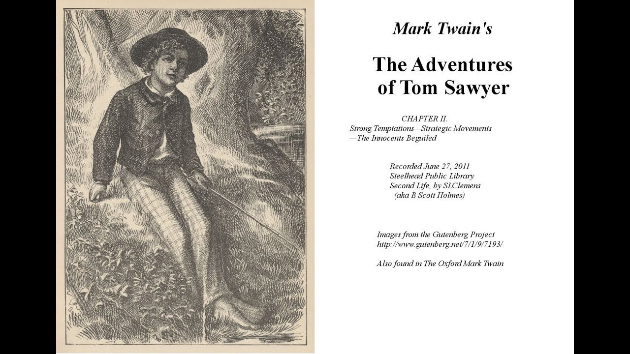 an analysis of the adventures of tom sawyer by mark twain