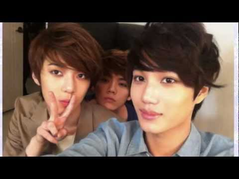 Happy Three Friends {Kai + Se Hun + Lu Han}