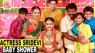 Actress Sridevi Celebrates her Baby Shower (Srimantam) With Friends and Family