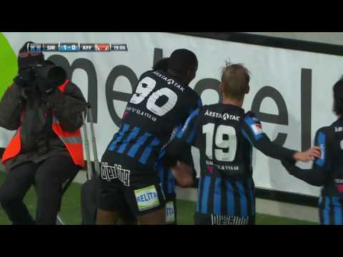 VIDEO: Watch Kingsley Sarfo score a Messi-like goal for Sirius in the Swedish league