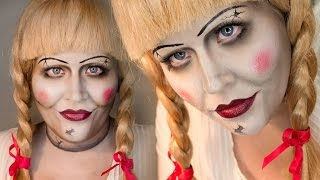 Annabelle Makeup Tutorial THE CONJURING