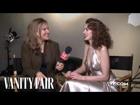 Anne Hathaway - Behind The Scenes Interview At Her Vanity Fair Hollywood Issue Cover Shoot