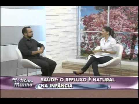 Médico pediatra Marcelo Madeira fala sobre o refluxo durante a infância
