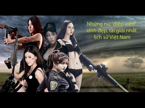 Cuộc đời 5 nữ điệp viên tài sắc vẹn toàn Việt Nam (lich su Viet Nam)