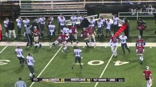 Austin Westlake vs A&M Consolidated 2013 - Playoff Game Full Broadcast