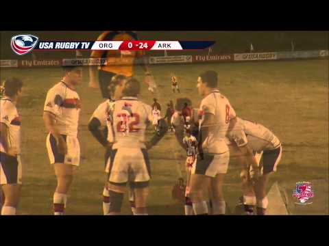 2013 USA Rugby College 7s National Championship: Arkansas State vs. Oregon State